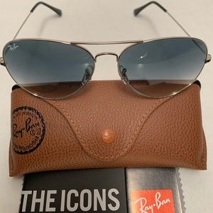 Ray-Ban Aviator Sunglasses RB3026 62-14mm 003/32